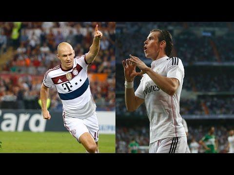 Arjen Robben vs Gareth Bale   Top 5 Goals Battle So Far   2014/15
