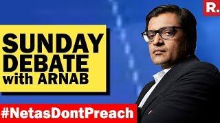 India Forced Netas To Speak Up #NetasDontPreach...