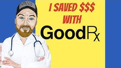 How To Use Good RX Prescription App - Money Savings Video
