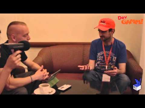 Mike Rose interview at DevGAMM Moscow 2015