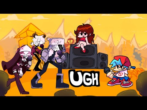 """Friday Night Funkin' but Different Characters Sings """"Ugh"""""""