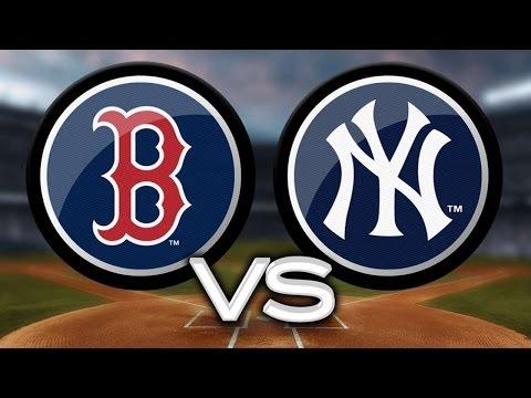 MLB: New York Yankees vs Boston RedSox Game 2