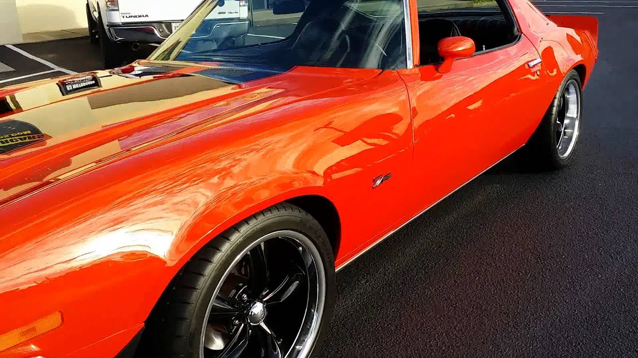 1972 camaro z28 z 28 355 for sale r3motorcars com youtube. Black Bedroom Furniture Sets. Home Design Ideas