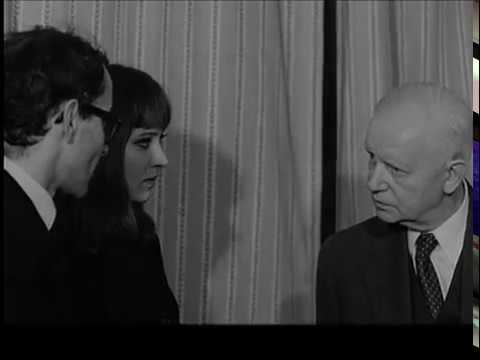 anna karina and jean-luc godard meet carl dreyer