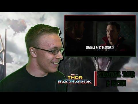 Thor Ragnarok Internatinal Trailer #2 Reaction DOCTOR STRANGE RETURNS