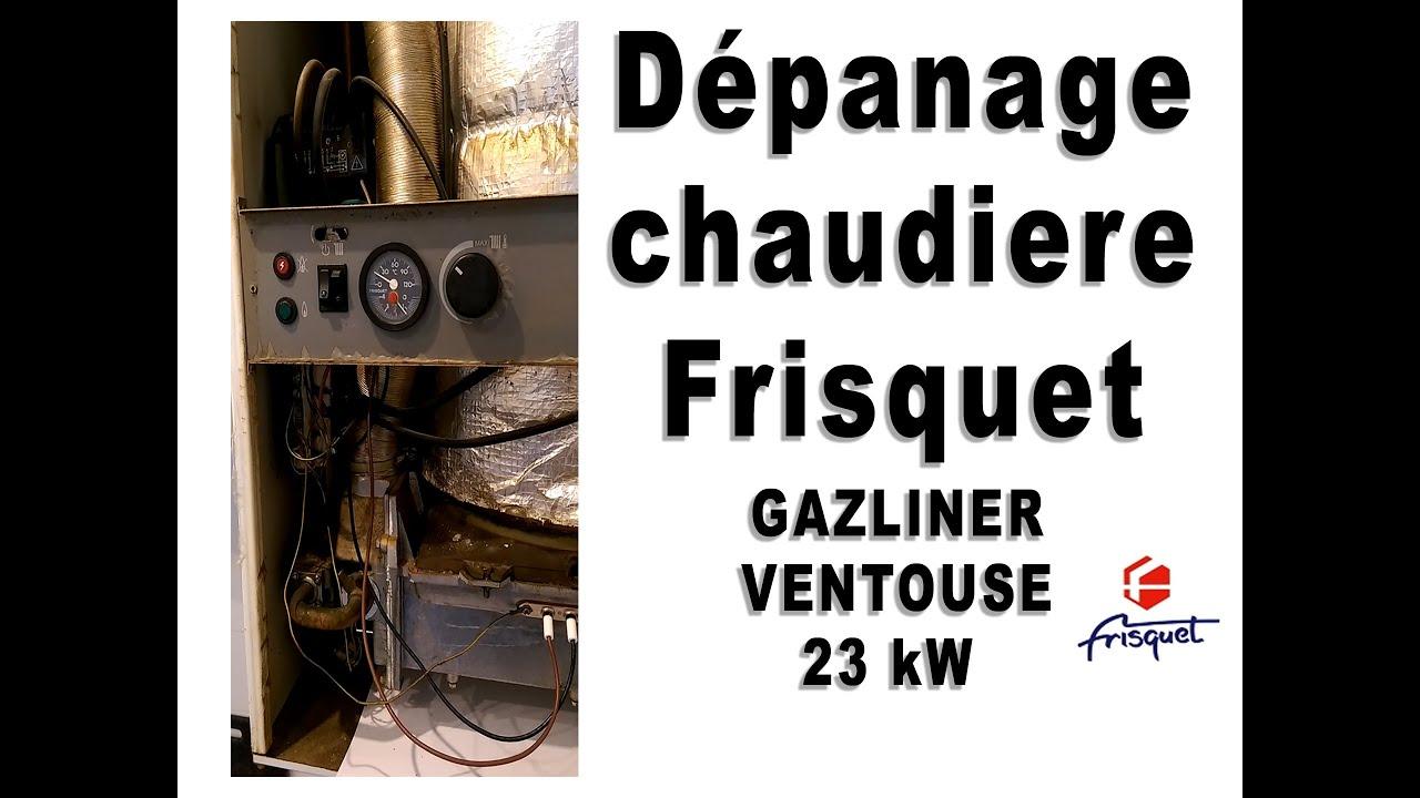 Frisquet gazliner ventouse 23 kw youtube - Difference entre chaudiere ventouse et cheminee ...