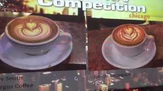 Latte Art World Championship in Chicago 2013(Semi Final)