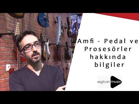 Amfi -  Pedal Ve Prosesörler Hakkında Bilgiler