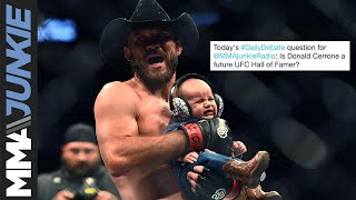 Daily Debate: Is Donald Cerrone a future Hall of Famer?