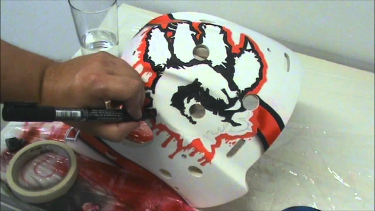 Speed Paint Goalie Mask Youtube