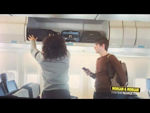 Morgan & Morgan Law Firm Commercial Promotes Rude Airplane Passenger Behavior - Vlog