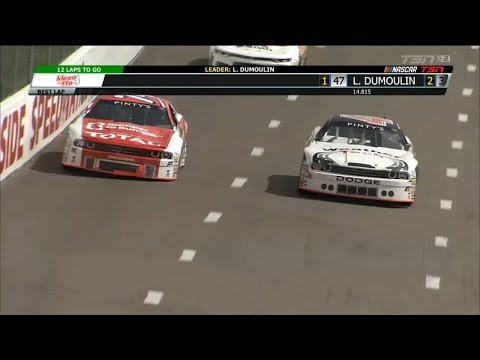 NASCAR Pinty's Series 2018. Riverside International Speedway. Last Laps