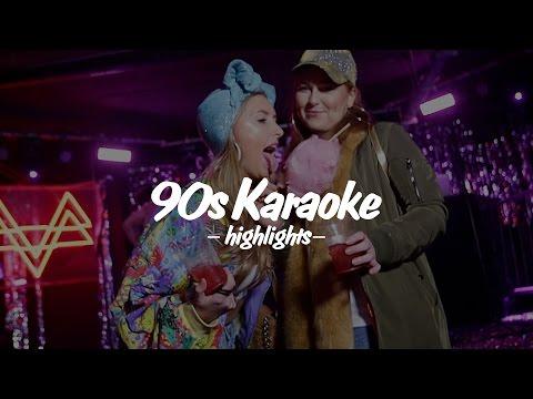 90s KARAOKE HIGHLIGHTS: Jan 06th 2017 pt.01