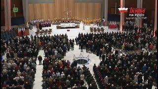 Msza święta za Ojczyznę z Świątyni Opatrzności Bożej w Warszawie