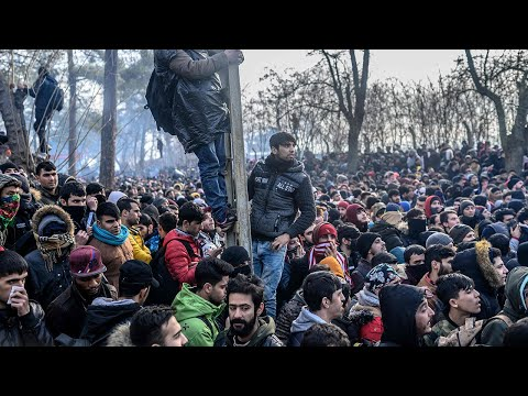 Concerns over new migrant crisis as thousands reach Greek border