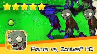 Plants vs  Zombies™ HD Adventure 1 Day Level 06 Walkthrough The zombies are coming! Recommend index