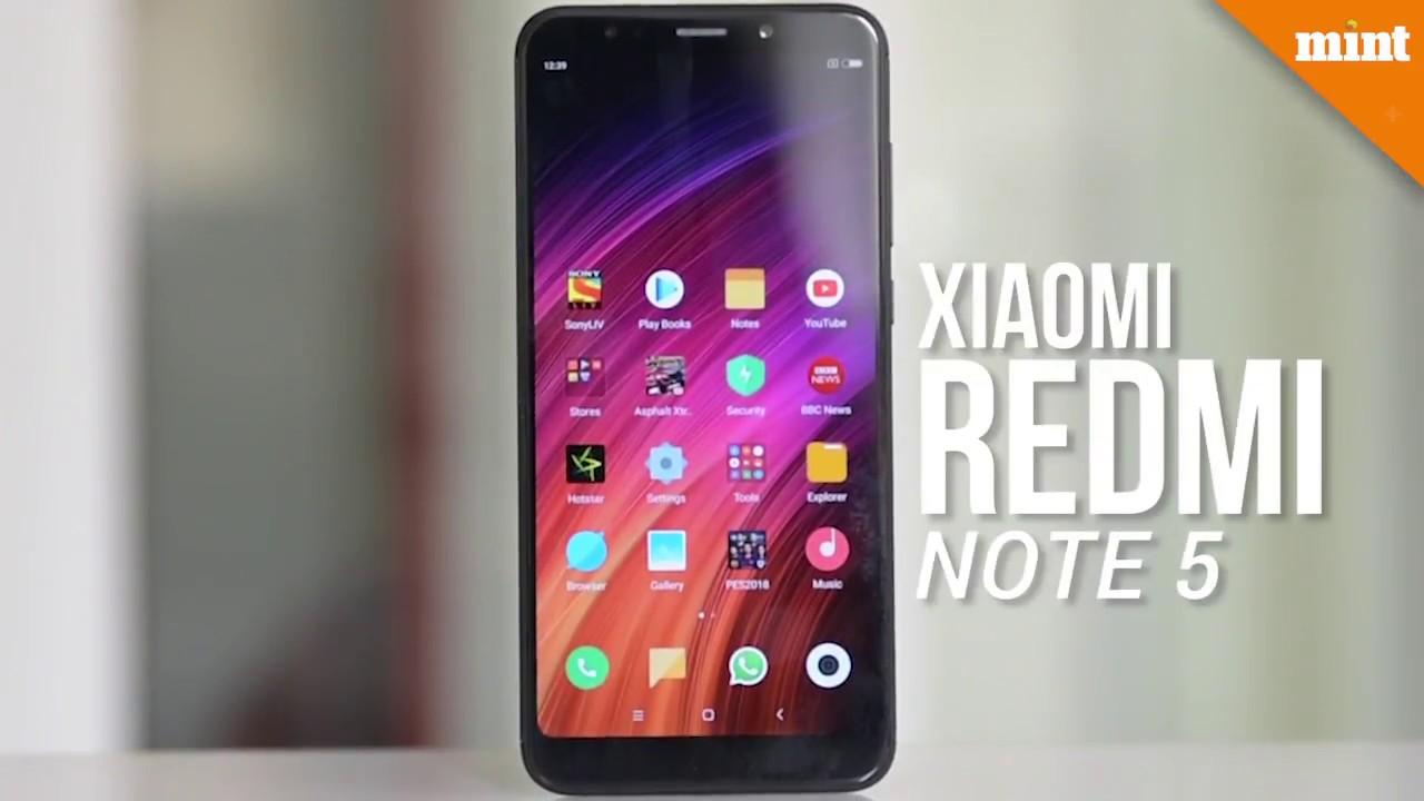 50e809f8b757e Xiaomi Redmi Note 5- key highlights - YouTube