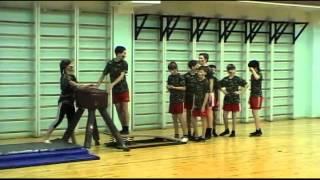 Буторина Марина конкурсный урок по гимнастике в школе(военная тематика)