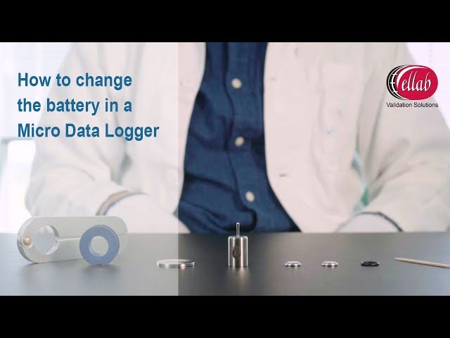 How to change the battery in a TrackSense Micro Logger