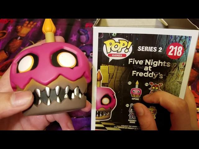 Exclusive Target FNAF Nightmare Cupcake Funko Pop Five Nights At Freddys