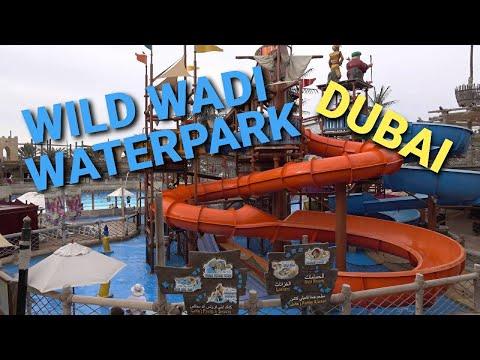 Wild Wadi Waterpark - Jumeirah , Dubai 4K