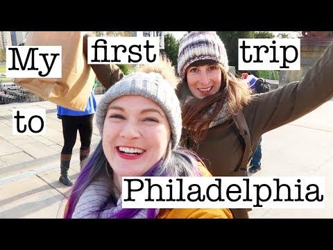 Vlog | Visiting Philadelphia