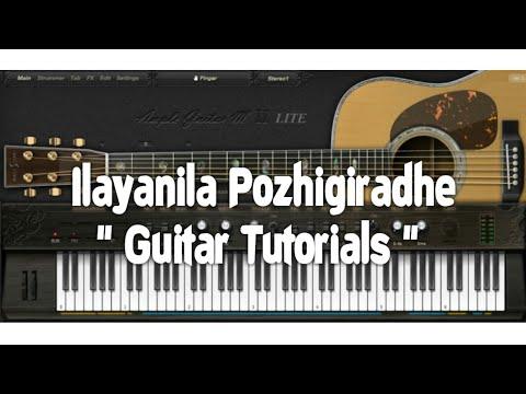 Ilayanila Guitar Tutorials (payanangal mudivadhillai) music sheet, midi file, Karaoke