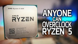 How To Overclock Ryzen 5! (The EASY Way)