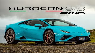 NEW Lamborghini Huracán EVO RWD: This Baby Lambo Has EVERYTHING You Need | Carfection 4K