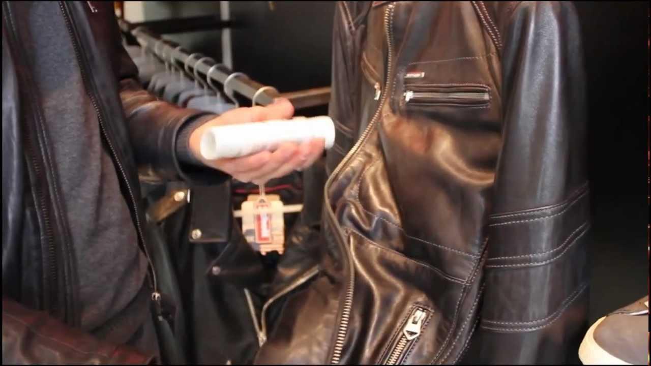 Retouche veste en cuir