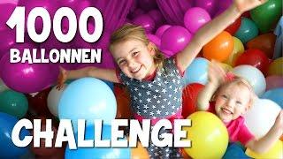 1000 BALLONNEN IN ONZE SLAAPKAMER!!! [+ verjaardag Saar!] ♥DeZoeteZusjes♥