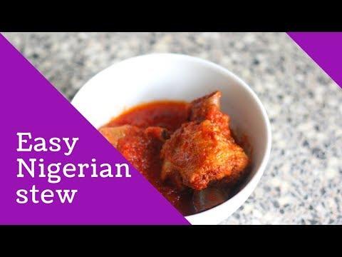 HOW TO MAKE STEW | HOW TO MAKE NIGERIAN STEW | TURKEY STEW