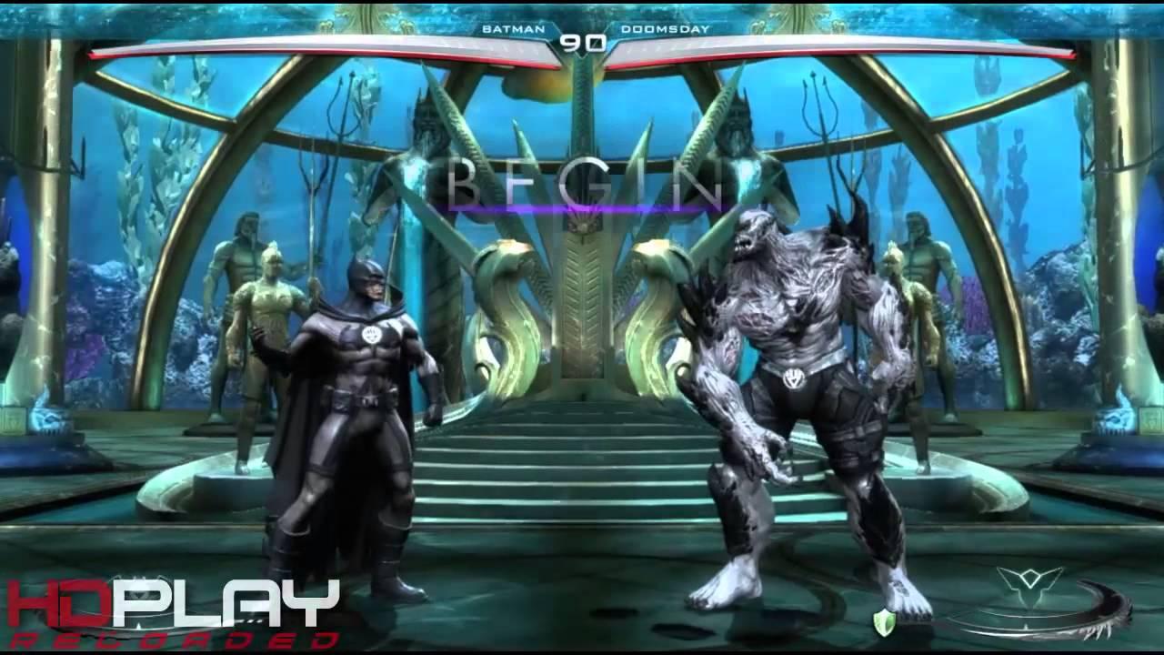 Injustice Gods Among Us DLC - Blackest Night Costume Pack