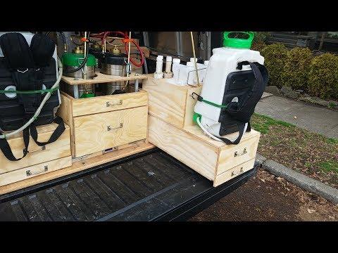 (NEW SETUP) Spokane Pest Pro Service Truck Setup