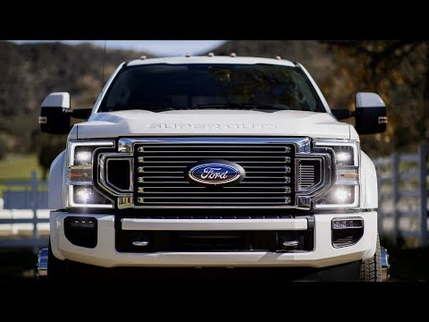 2020 Ford F 450 Super Duty Interior Exterior and Drive