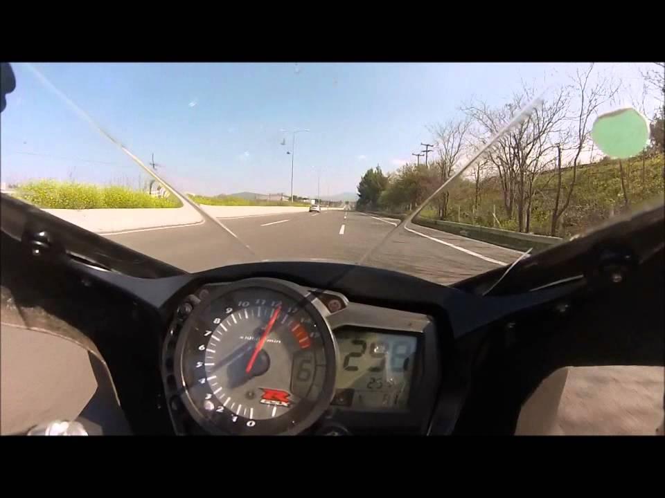 Suzuki gsxr 1000 k8 TopSpeed - YouTube
