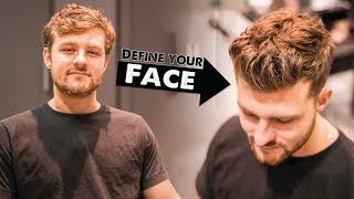 How a Haircut Can Give You A BETTER, More DEFINED Face Structure   BluMaan 2017