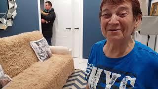 Из Германии в Украину  Дома встретили
