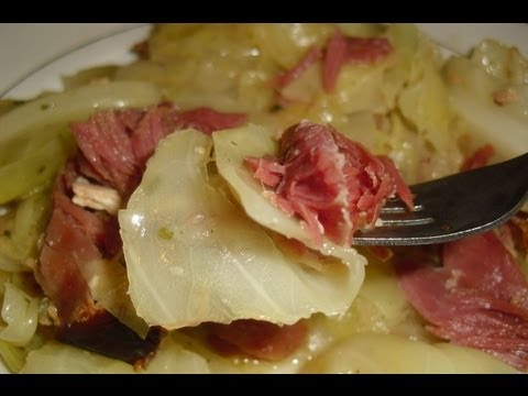 Cabbage And Smoked Shanks Recipe - I Heart Recipes