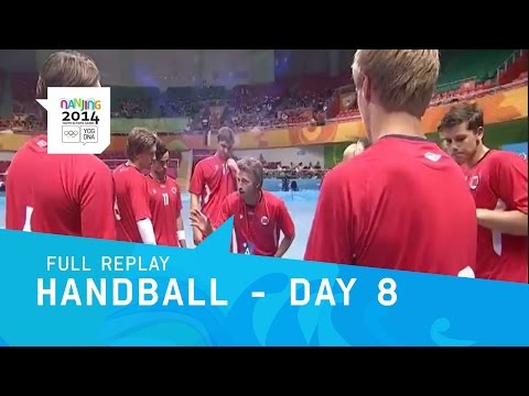 Handball - Men's Semi Finals | Full Replay | Nanjing 2014 Youth Olympic Games