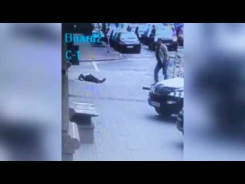 Video of the murder of former State Duma Russia deputy Denis Voronenkov! Video of the execution