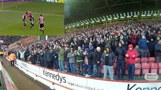 FanCam: Blades 3-0 Sunderland