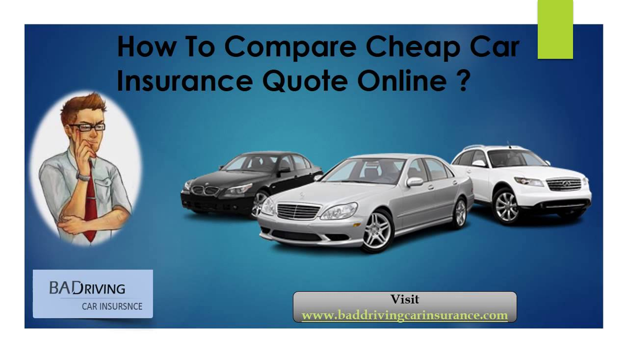 How To Find The Best Car Insurance Quotes Comparison - YouTube