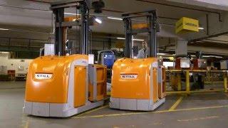 Optimierung des Waren- und Informationsflusses - STILL Fahrzeuge im Einsatz bei Hella