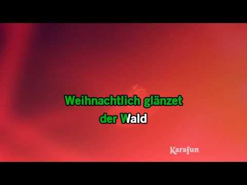 Karaoke Leise rieselt der Schnee - Helene Fischer *