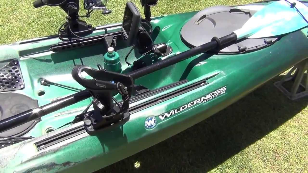 Tarpon 140 Kayak Rack Amp Kayak Set Up Youtube