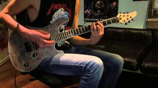 Sylosis - Overthrown (Cover) Mayones guitar