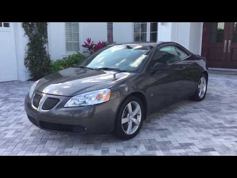 2007 Pontiac G6 GT Convertible Review and Test Drive by Bill - Auto Europa Naples