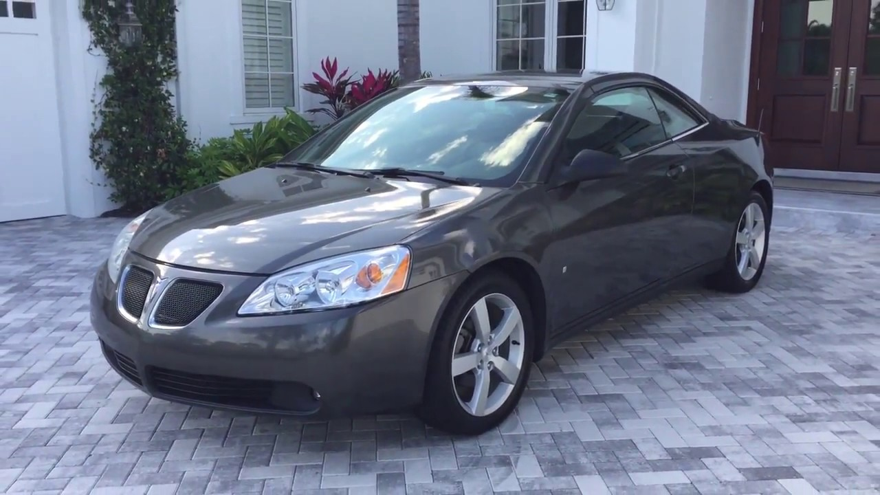 2007 Pontiac G6 Gt Convertible Review And Test Drive By Bill Auto Europa Naples Youtube