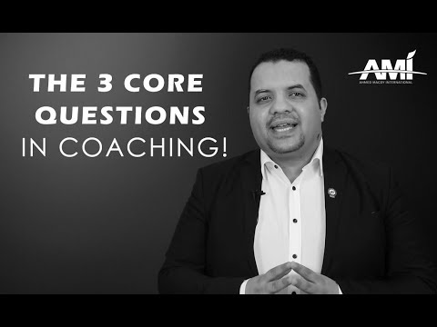 فلسفة الكوتشنج في ثلاثة أسئلة الكوتش أحمد مجدي Youtube